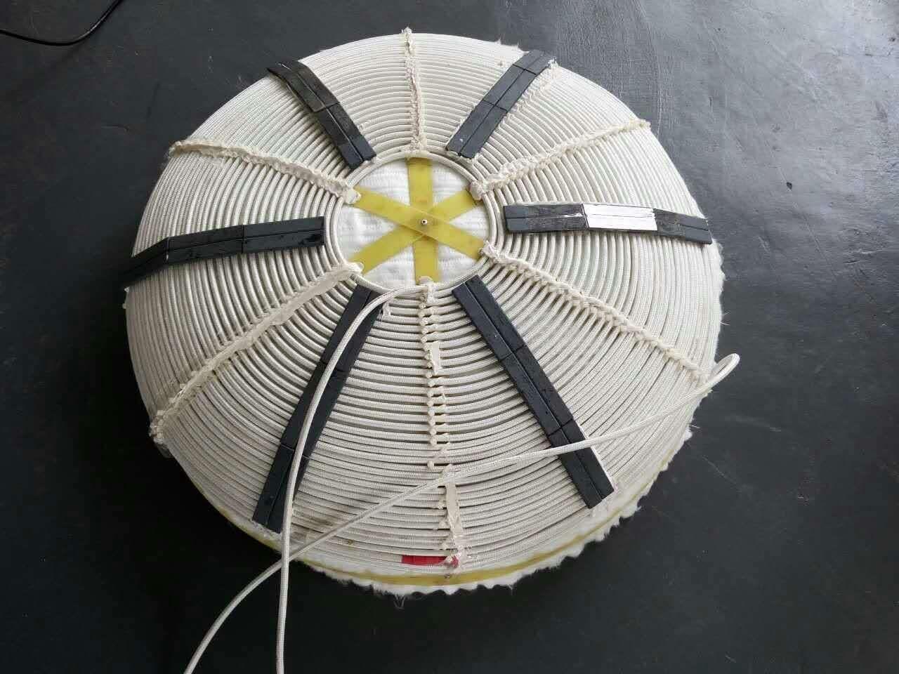 电磁加热圈实物图