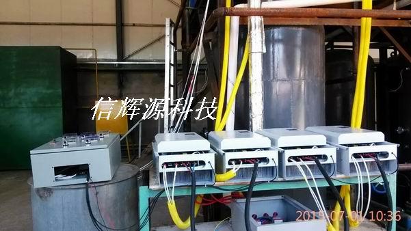 导热油电磁加热器现场图